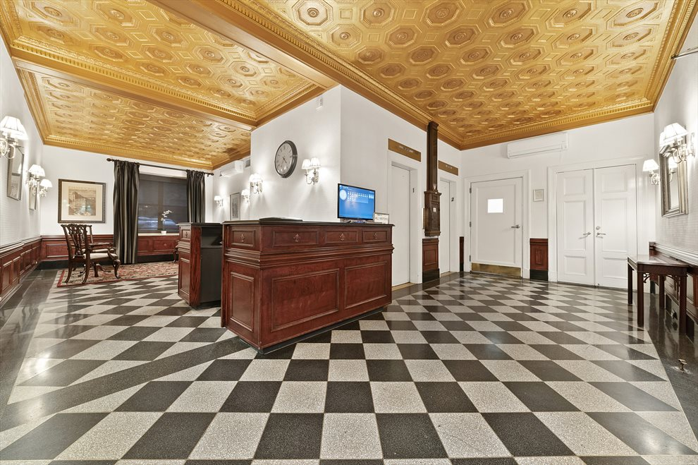New York City Real Estate | View 162 West 56th Street, #1206 | Beautiful Lobby