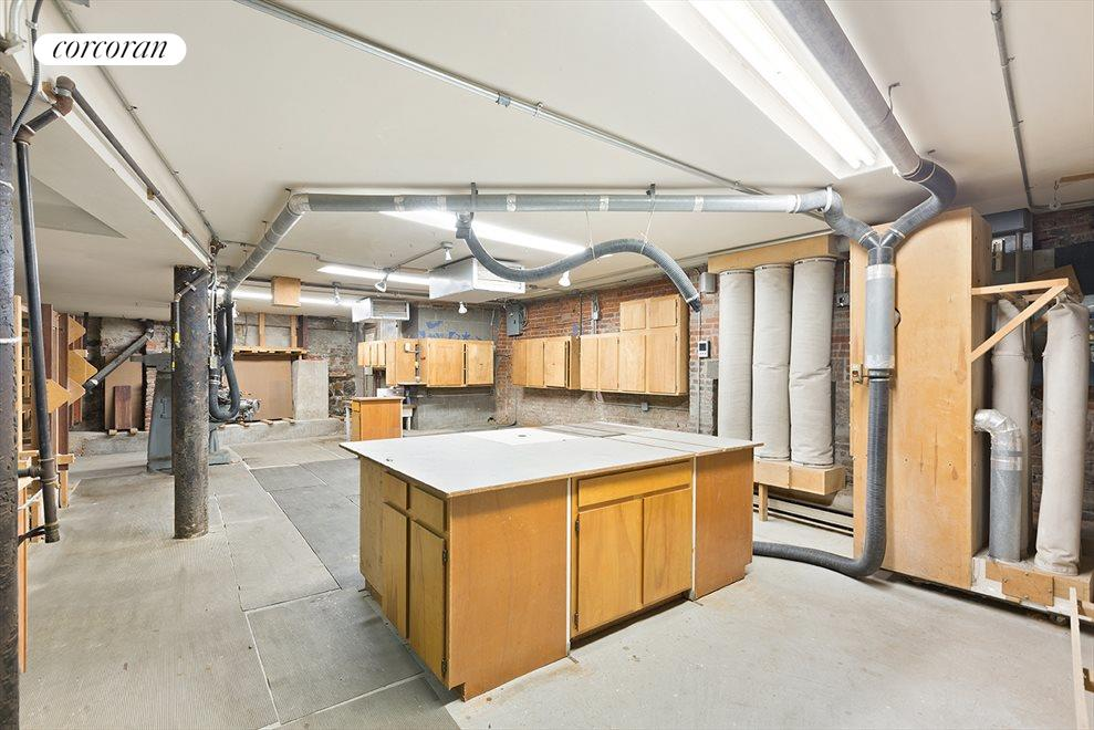 Finished Cellar with High Ceilings