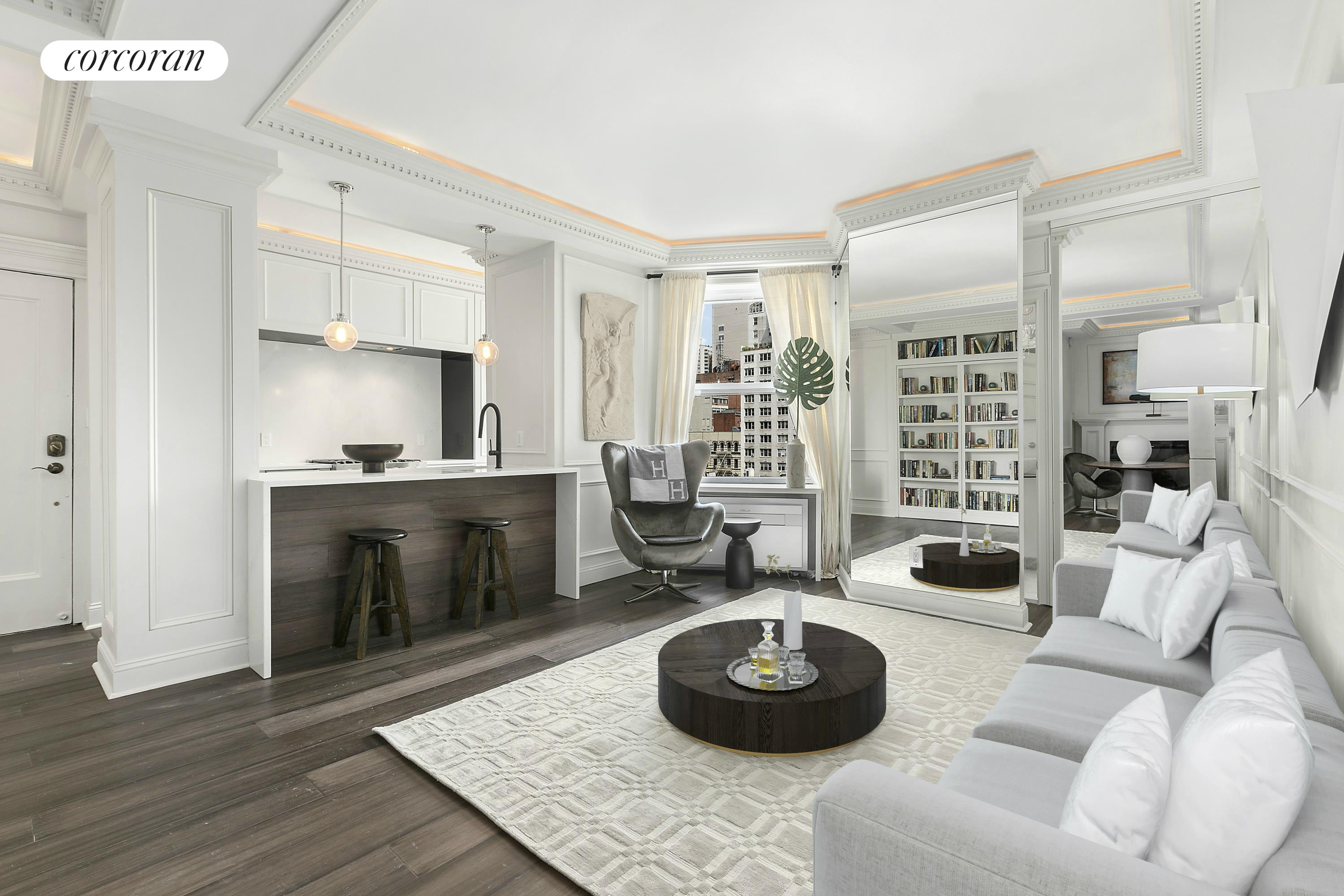 144 East 36th Street, 6C, Living Room