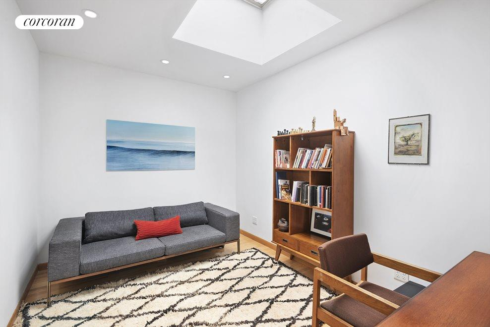 Office or swing bedroom with skylight