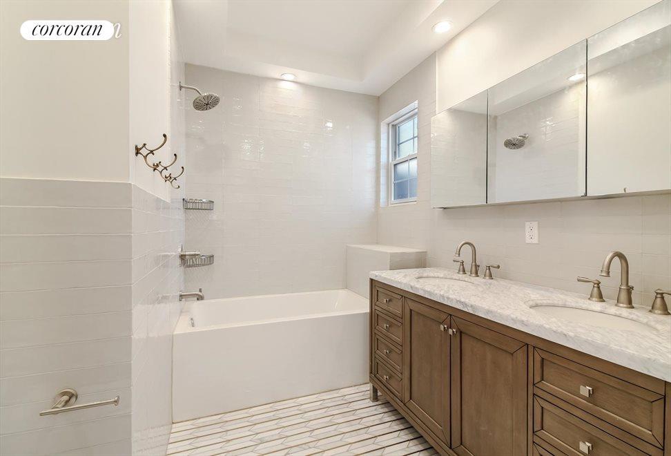 Master Bathroom with Deep Soaking Tub