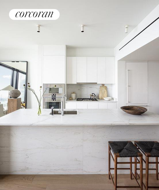 Open Kitchen with Island