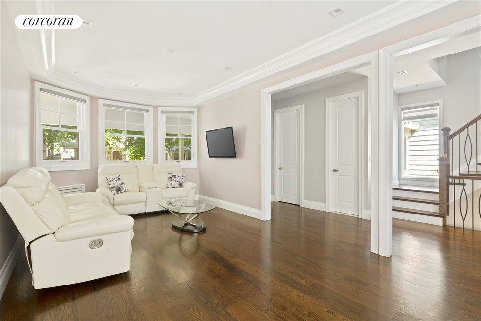 Sprawling open living space throughout