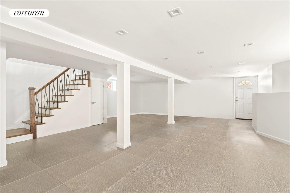 Full finished basement with access to back yard