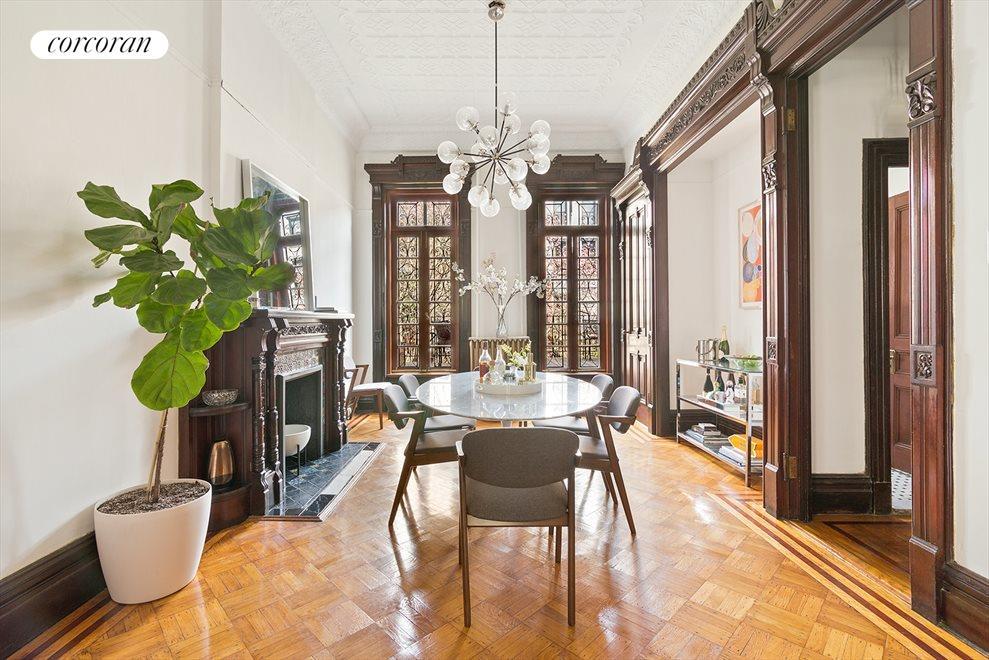 Parlor formal dining room