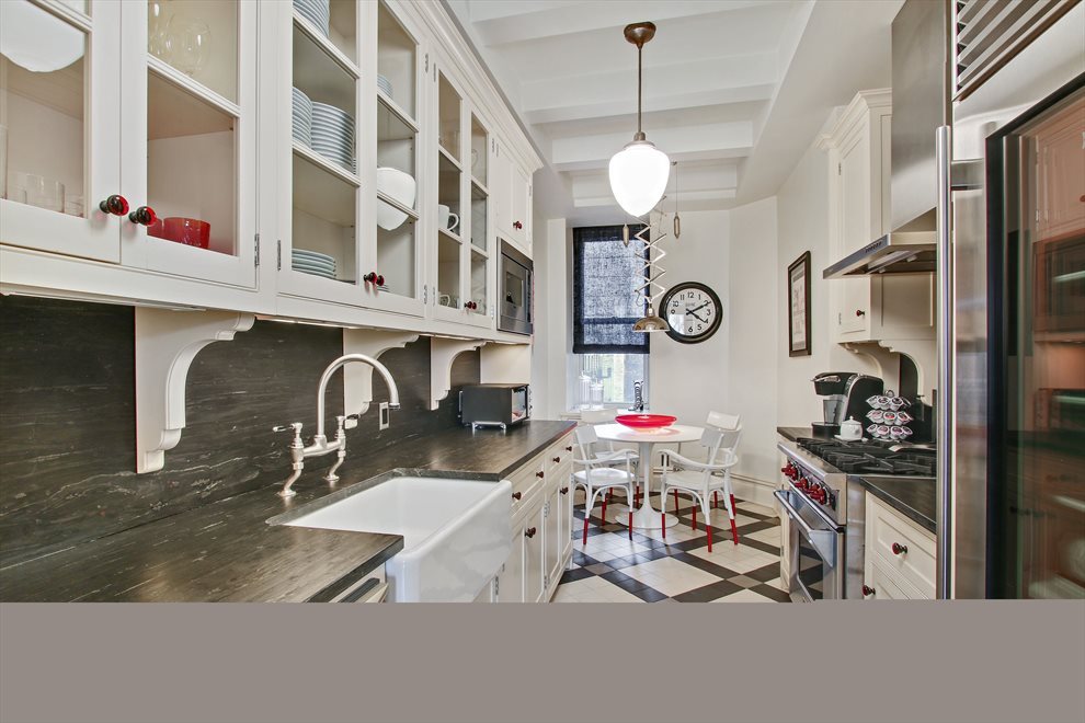 New York City Real Estate | View 50 Central Park West, #4AD | Renovated Kitchen w/ Premium Fixtures and Fittings