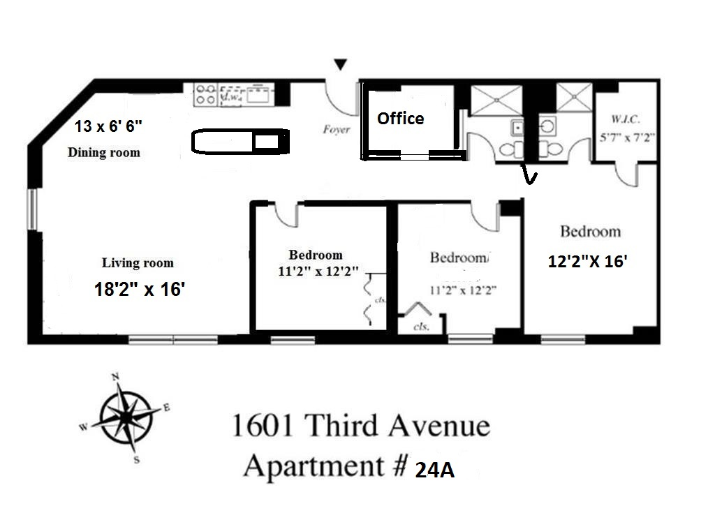 1601 Third Avenue 24A Upper East Side New York NY 10128