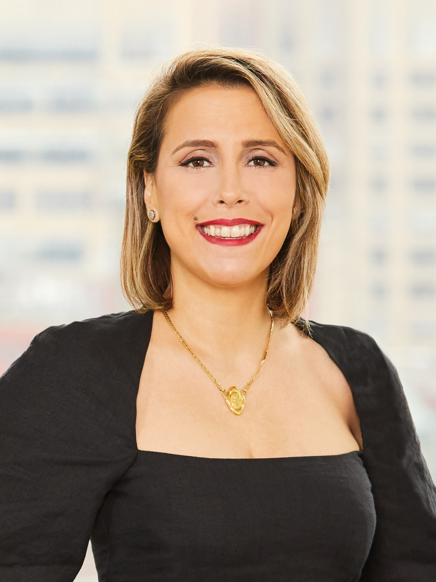 Tania Nasr, a top realtor in New York City for Corcoran, a real estate firm in East Side.
