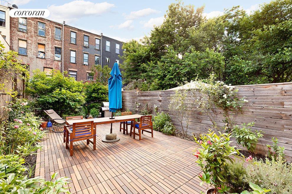 Garden accessed from bedroom