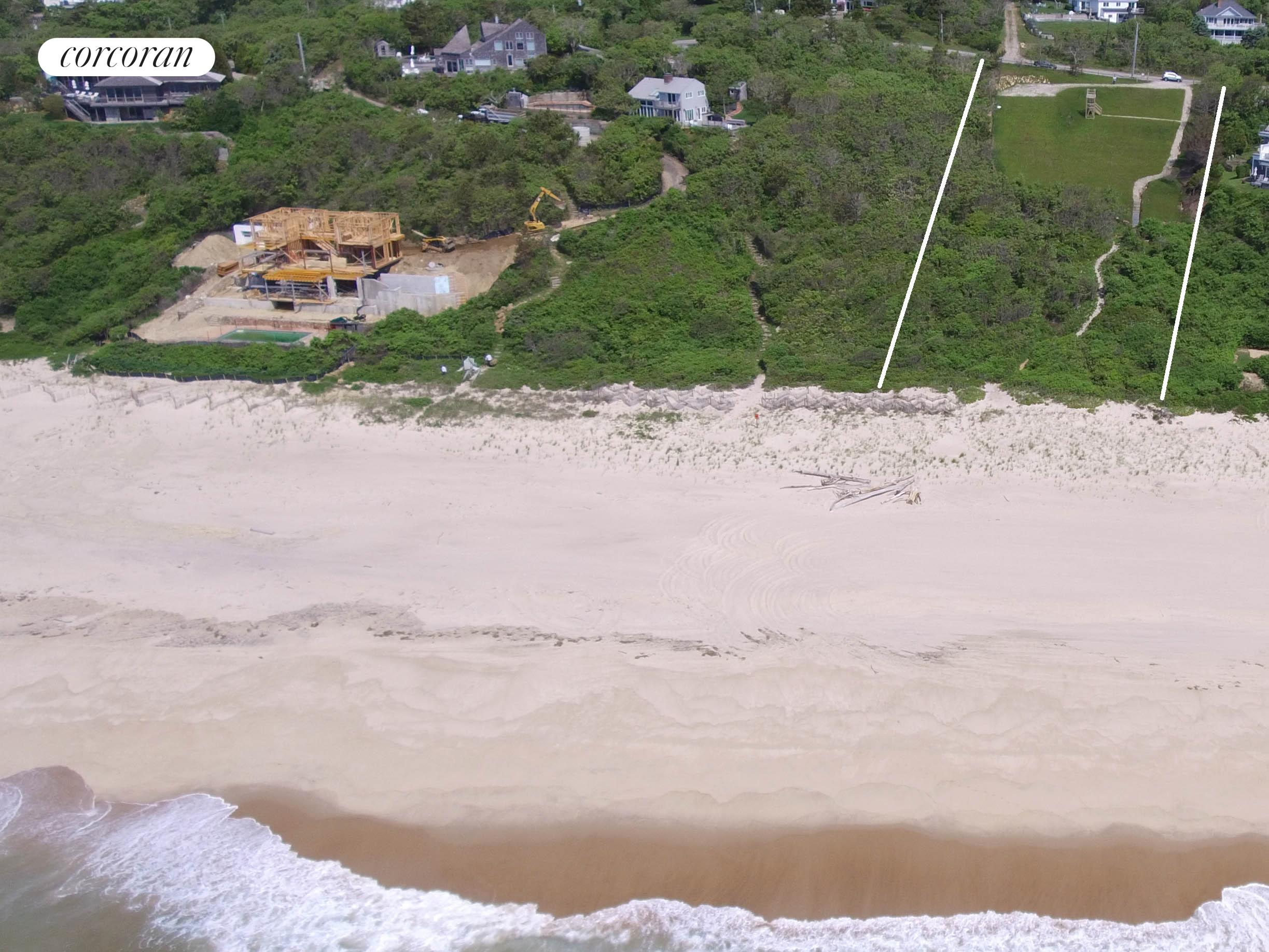 260 Old Montauk Hwy, aerial view looking South