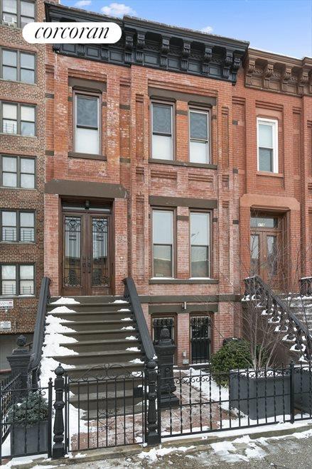 Elegant, original brick façade!
