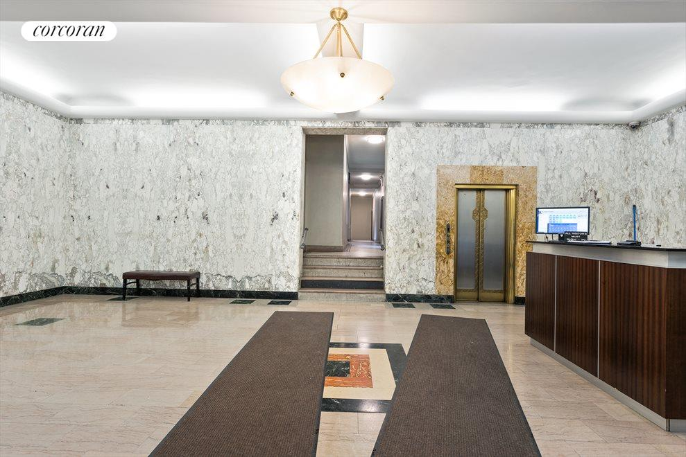 Grand marble entrance