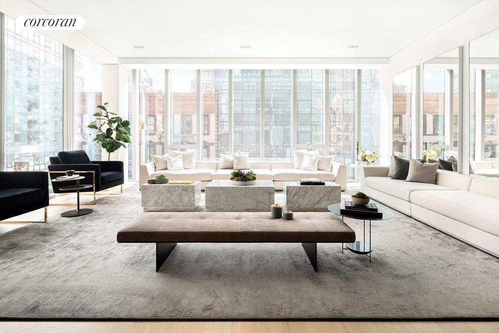 New York City Real Estate | View 515 West 29th Street, #5S | 2 Beds, 3 Baths