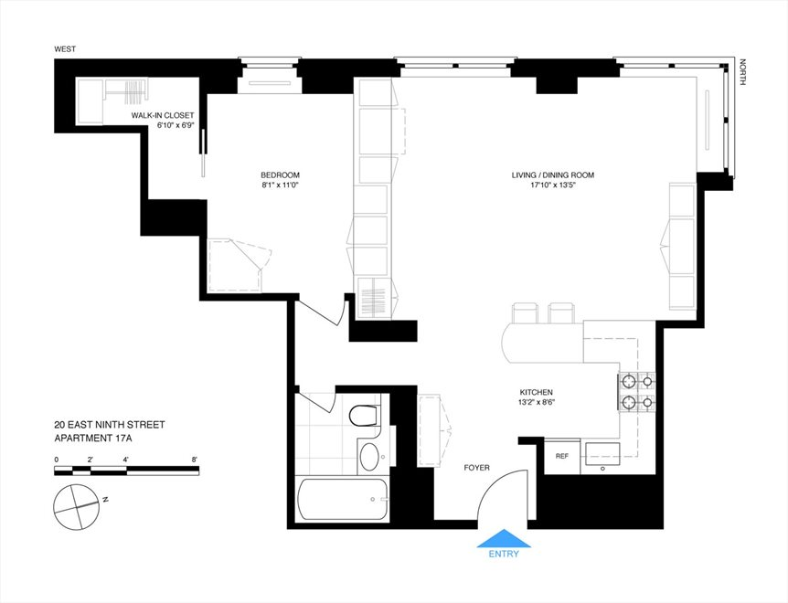 New York City Real Estate | View East 9th Street | Floorplan 2