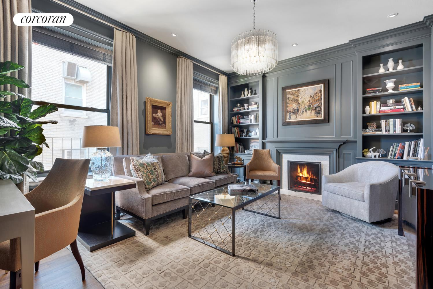 55 East 65th Street, 7B, Living Room