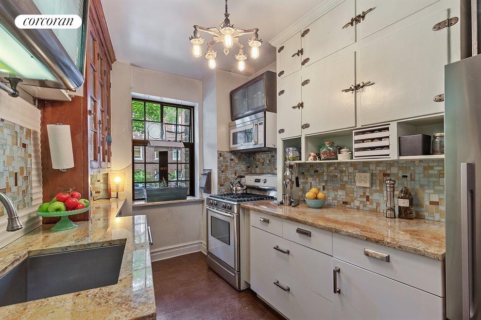 Windowed, Renovated Kitchen