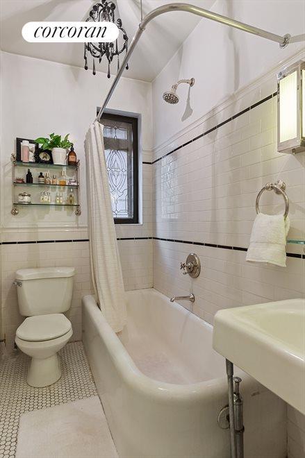 Windowed, Renovated Bath