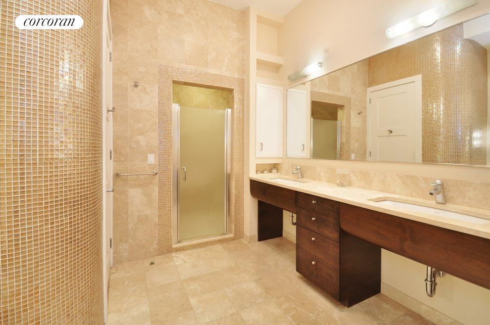 En-suite Marble Bath