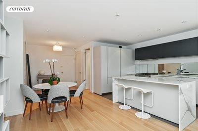 New York City Real Estate | View 20 Sutton Place South, #11B | Dining Room - spacious open concept