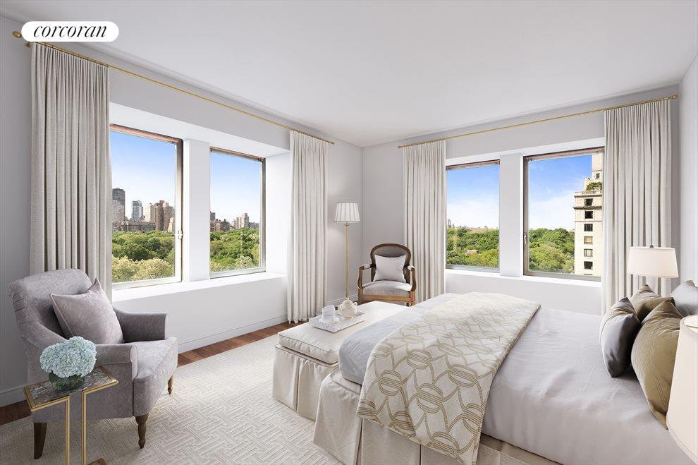 Virtual Rendering // Master Bedroom