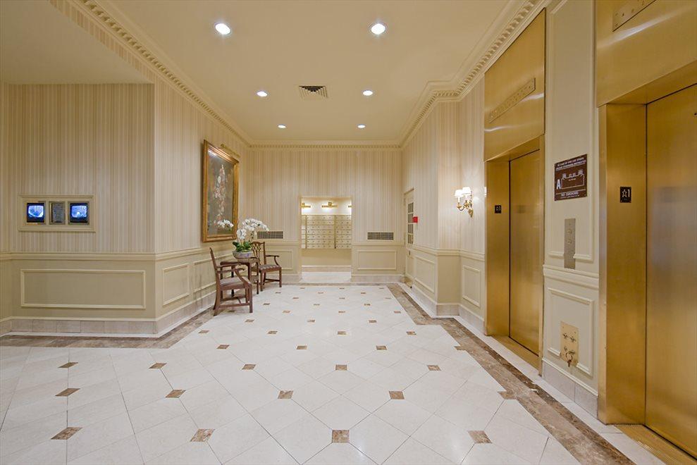 Elegant formal lobby