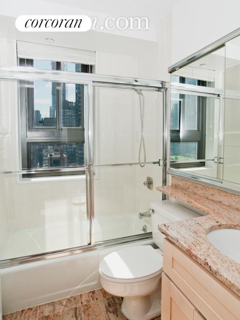Windowed bathroom