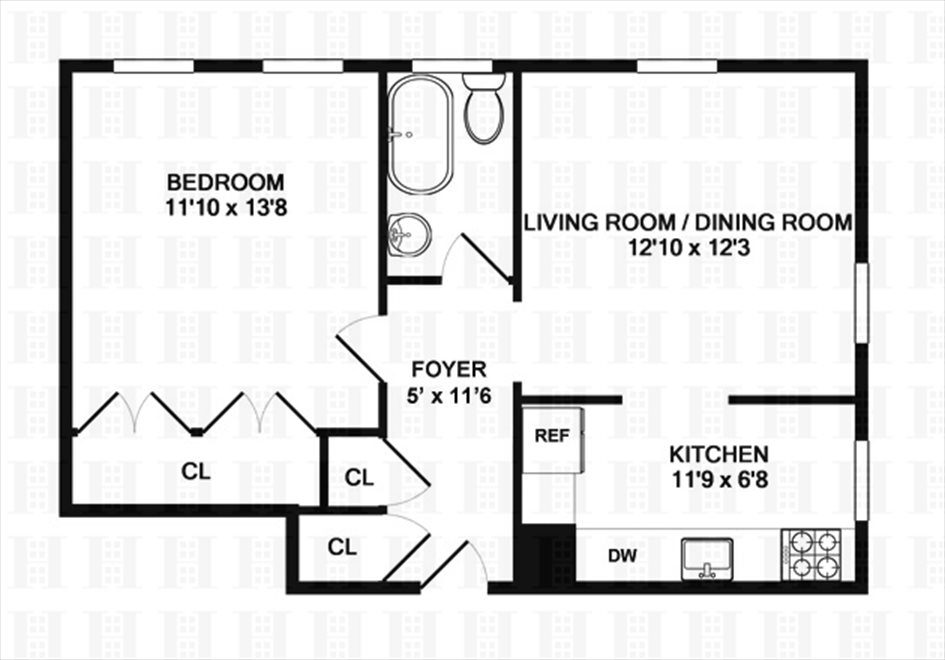 New York City Real Estate | View 70 HAVEN AVE, #3I | Floorplan