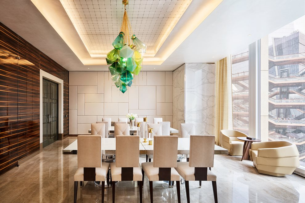 New York City Real Estate | View 35 HUDSON YARDS, #8603 | Private Dining Room