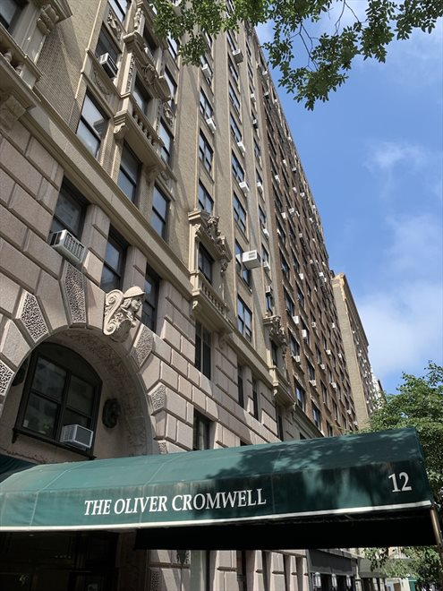 The Oliver Cromwell Apartment Building | View 12 West 72nd Street | Central Park Location