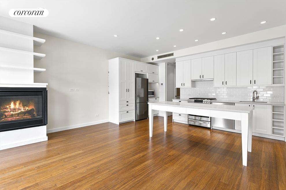 Open Kitchen with Island/Dining Table