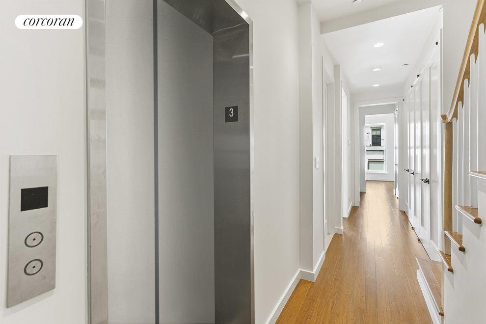 Private elevator entry