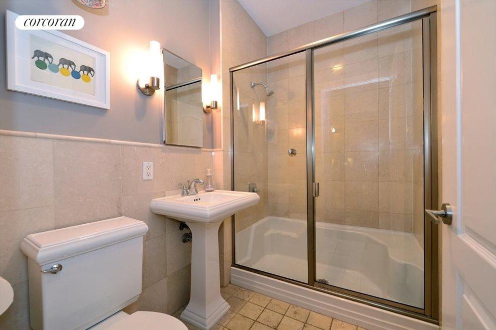 2 full baths on the entry floor level