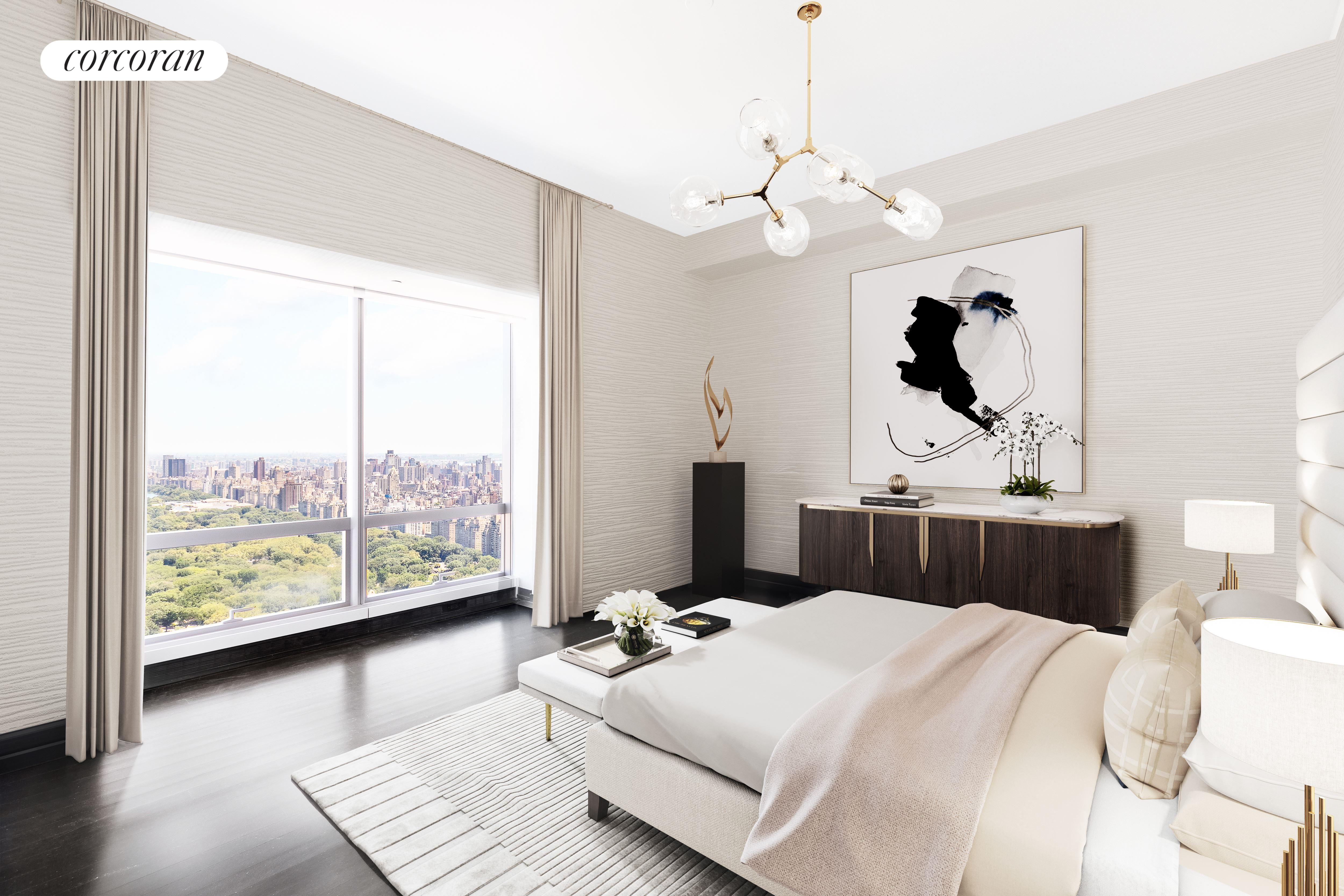 157 West 57th Street, 56C, Virtually Staged // Grand Salon