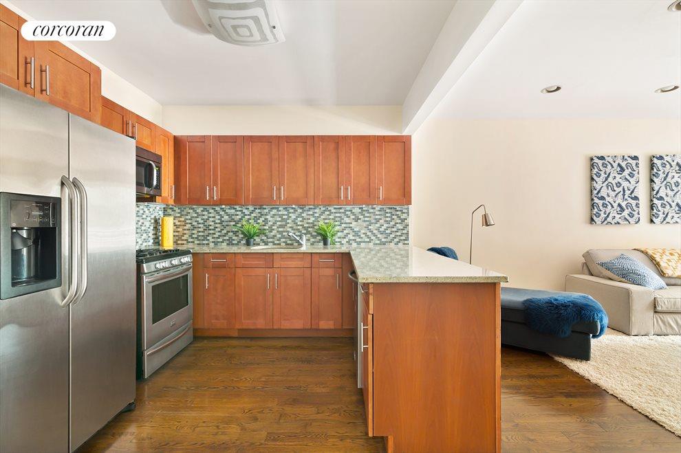 Large open entertaining kitchen