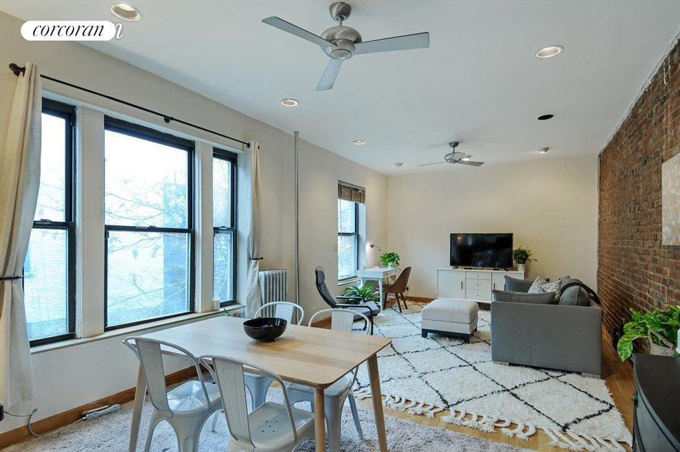 Extra-large living/dining room
