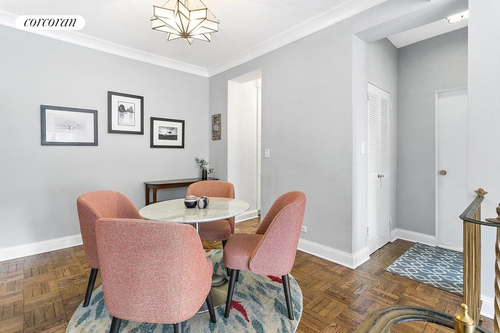 New York City Real Estate | View 301 East 48th Street, #15J | Mid Century Modern vibes and closets everywhere!