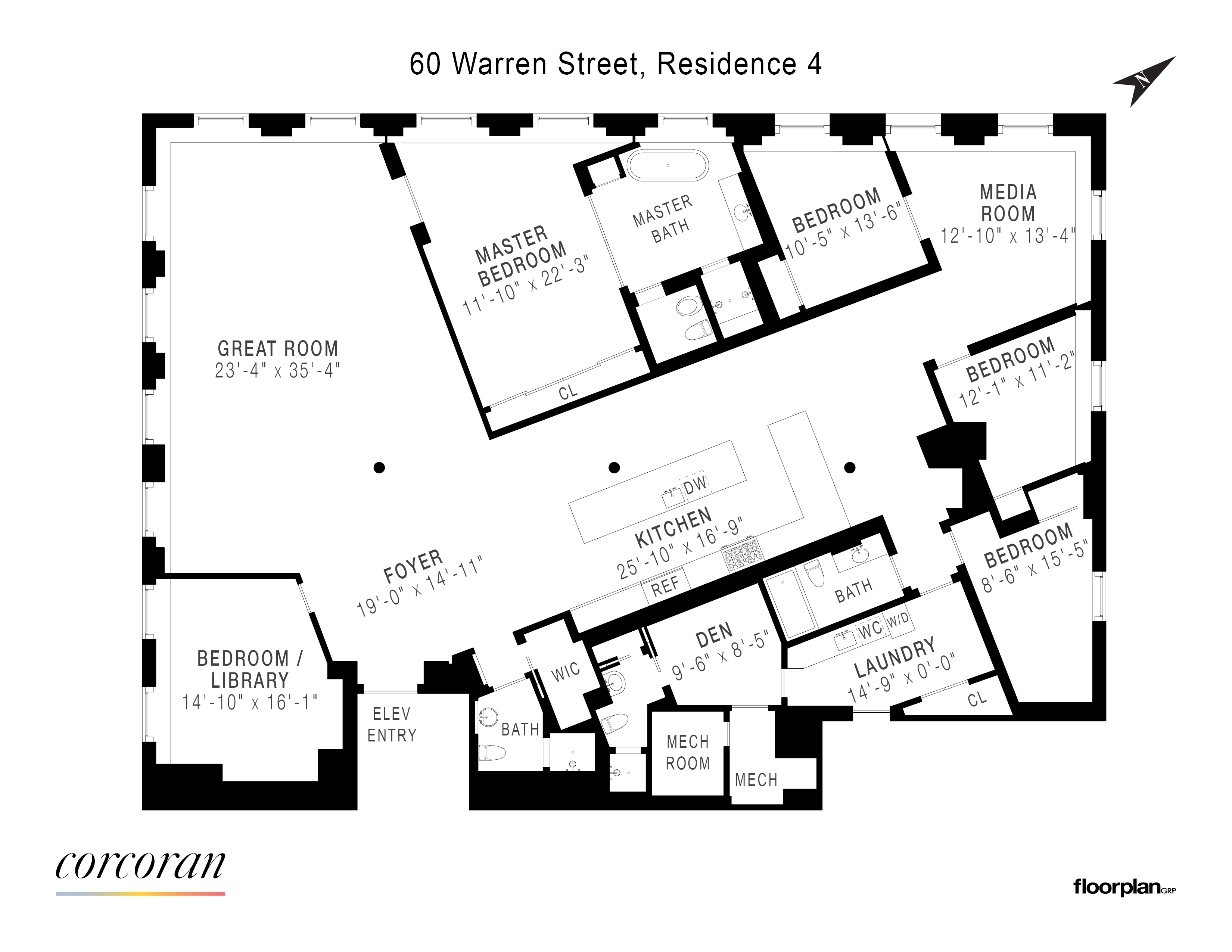 Albert Feinstein - 60 Warren Street Tribeca New York NY 10007 on hanover square nyc map, washington square nyc map, grand central nyc map,