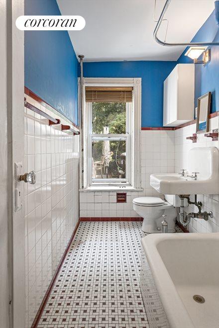 Restored vintage tile...