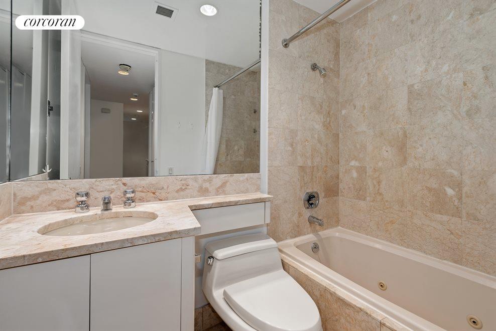 Marble bathroom with Jacuzzi bathtub