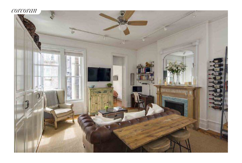 54 East 83rd Street, 3C, Living Room