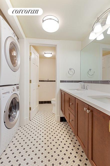 Bathroom with Laundry