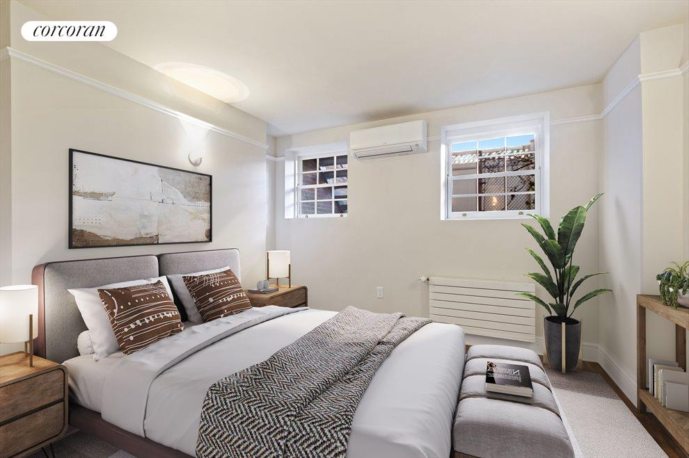 Virtually Staged 2nd Bedroom