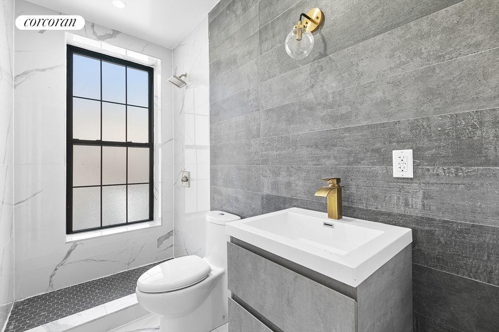 Modern, contemplative bathrooms!
