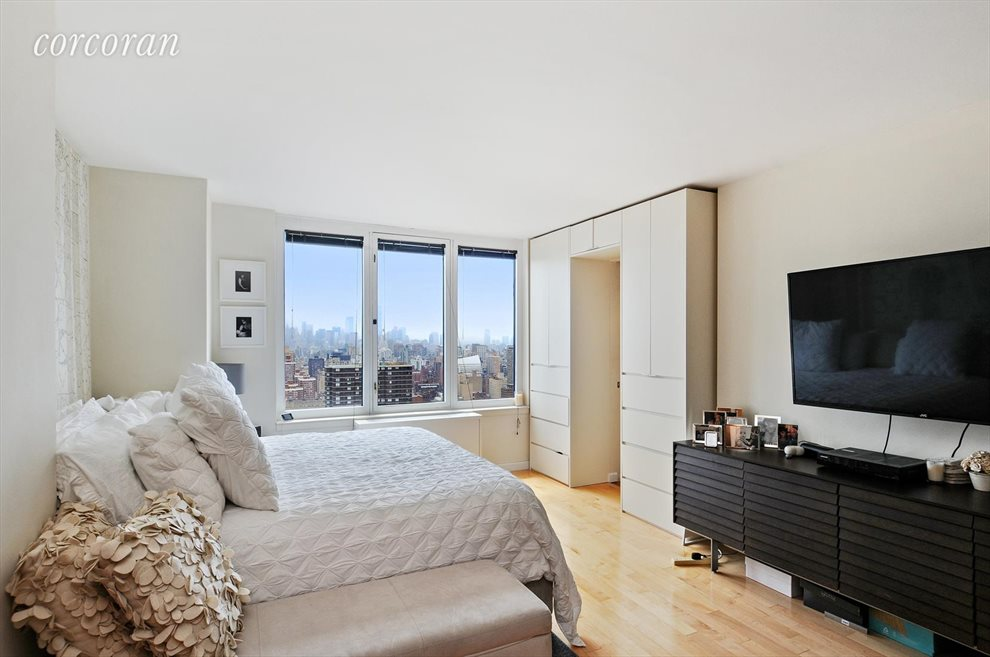 New York City Real Estate | View 330 East 38th Street, #43D | Master Bedroom