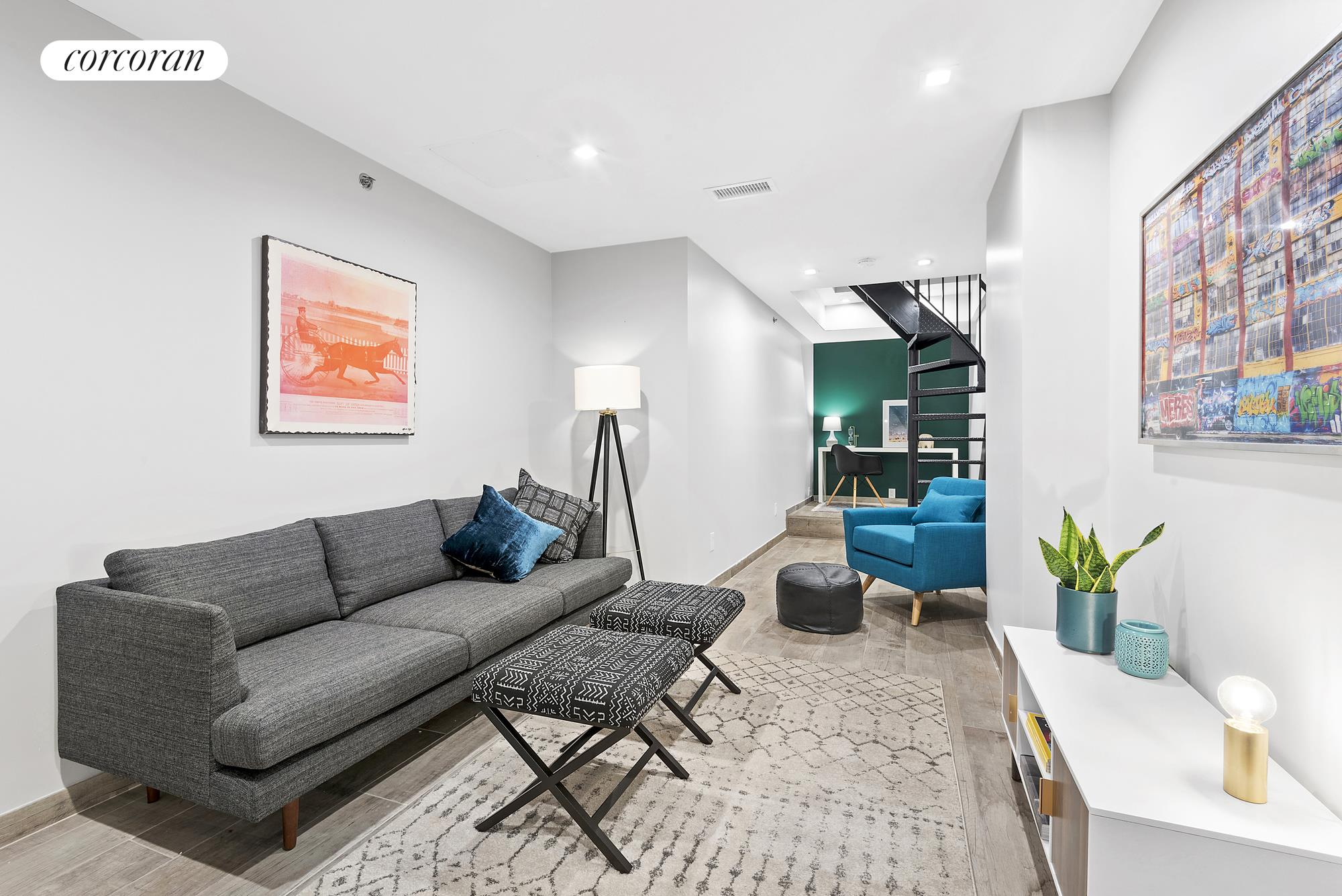 336 St Marks Avenue, 1A, Living Room