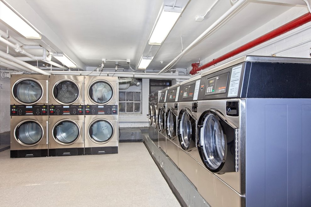 Recently renovated laundry room!