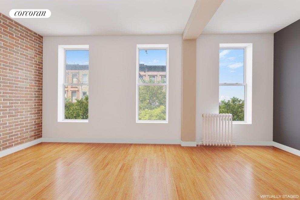 2nd Floor Rental Unit Living Room