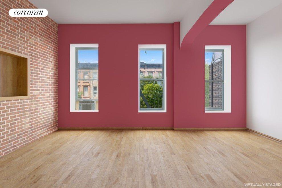 3rd Floor Rental Unit Living Room