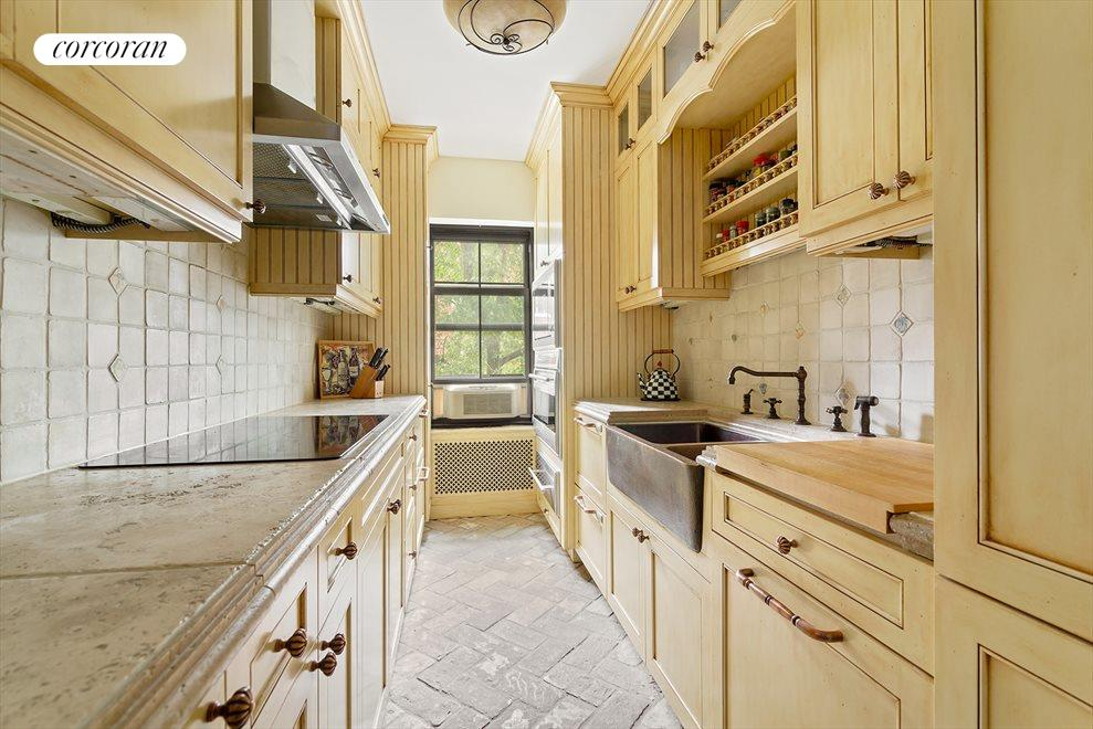 High end finishes in custom kitchen
