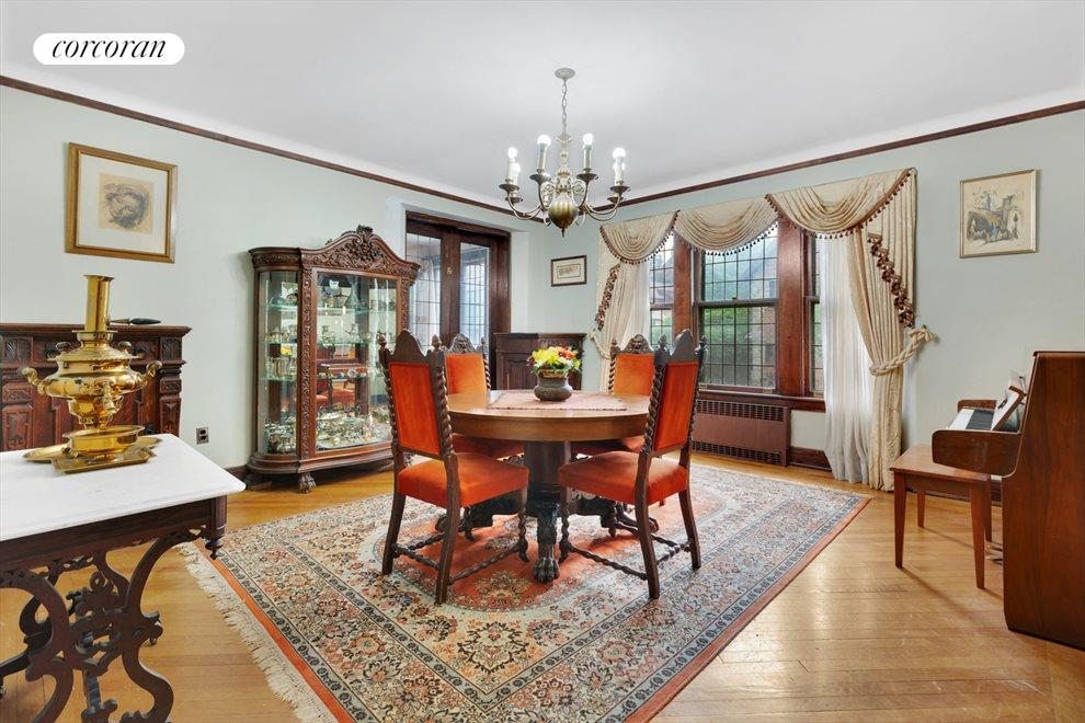 Formal Dining Room w/ Buffet Area